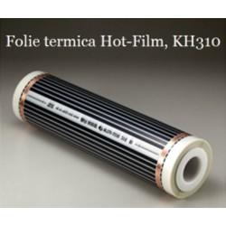 Film de încălzire cu carbon, Hot-Film, tipul KH 310, lăţime 100 cm