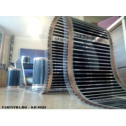 Film de incalzire cu carbon Hot-Film tip KH 3025 latime 25 cm